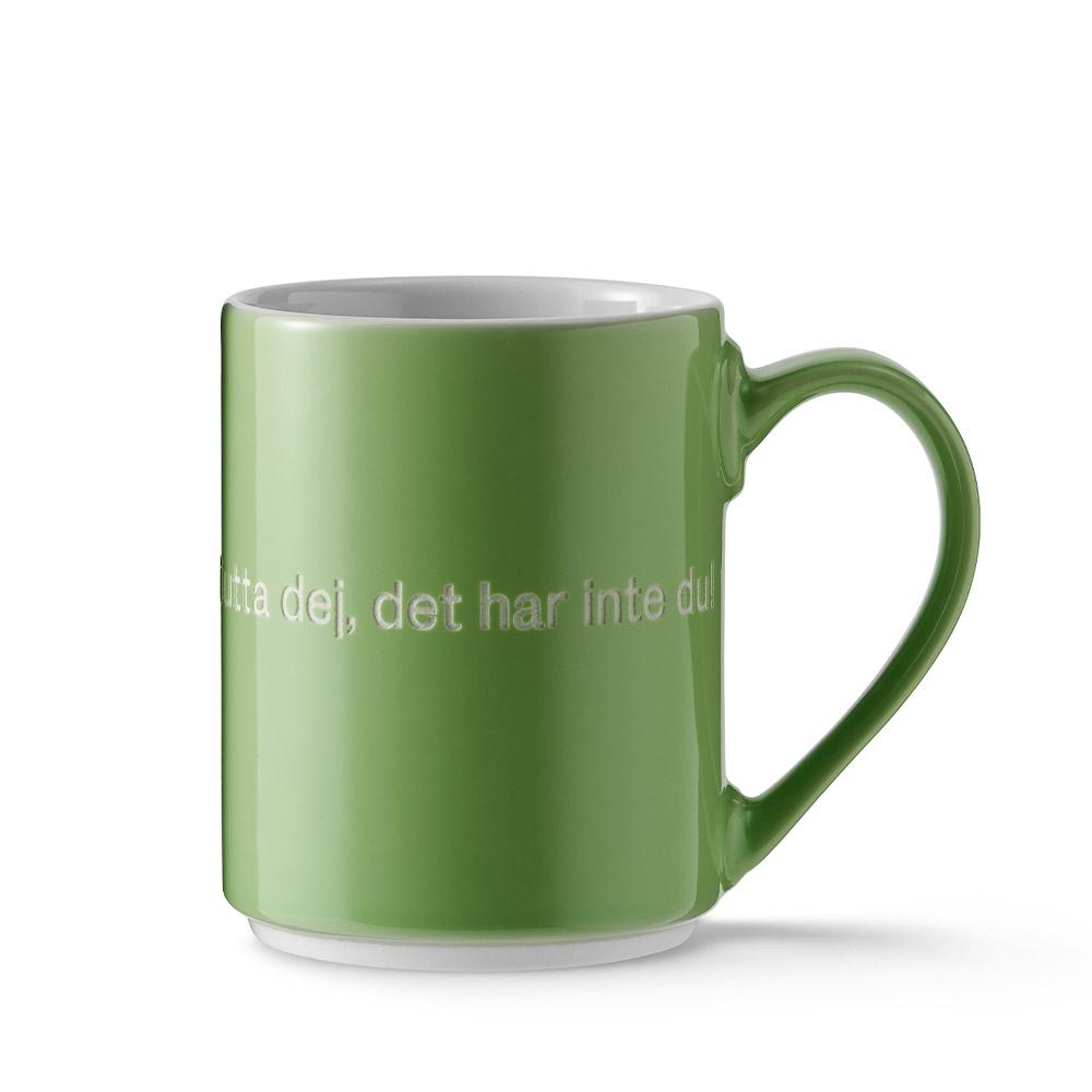 Designtorget Mugg Astrid Ärta grön