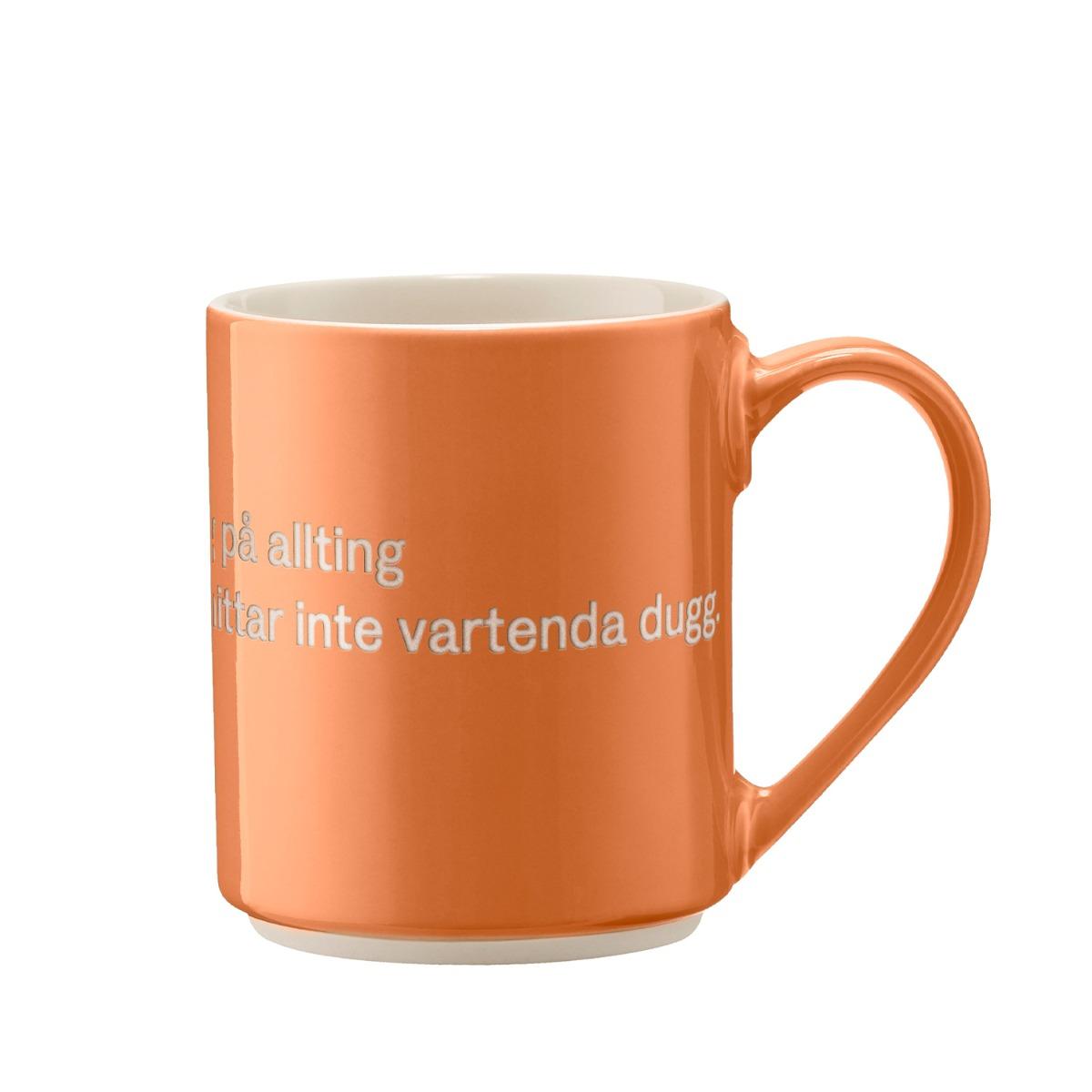 Designtorget Mugg Astrid Ingen ordning Orange