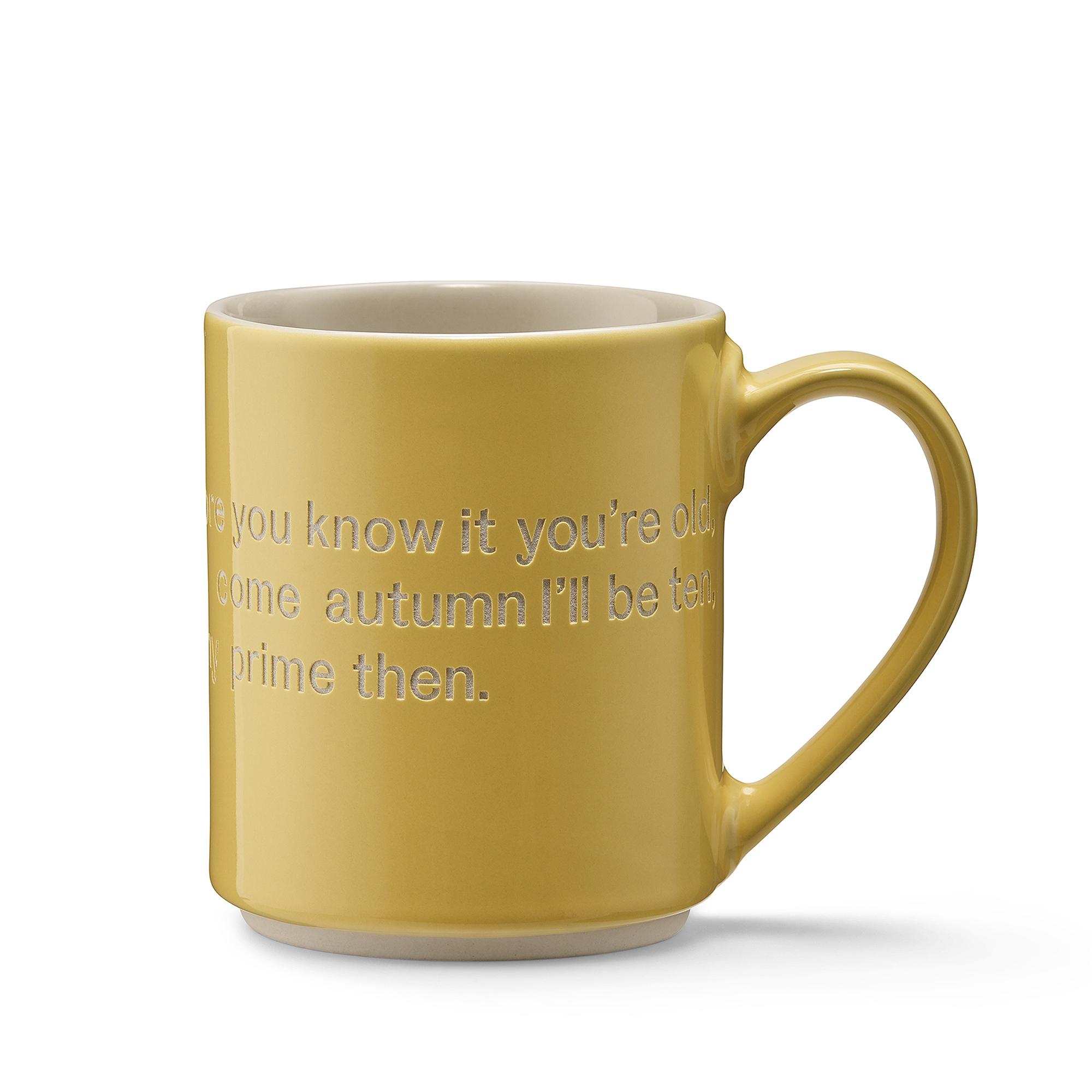 Designtorget Mugg Astrid Time yellow