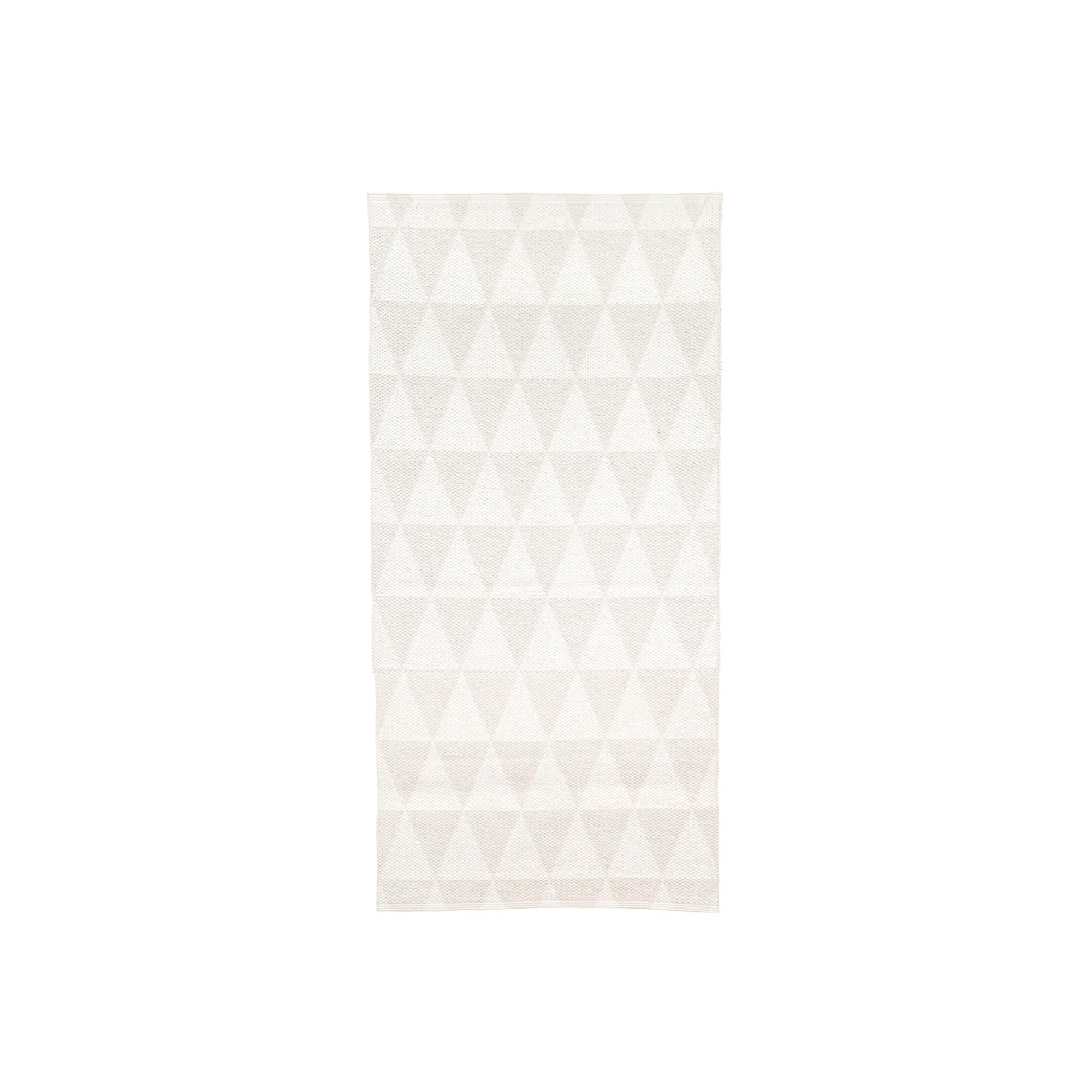 Designtorget Plastmatta Assar 150 vit/vit