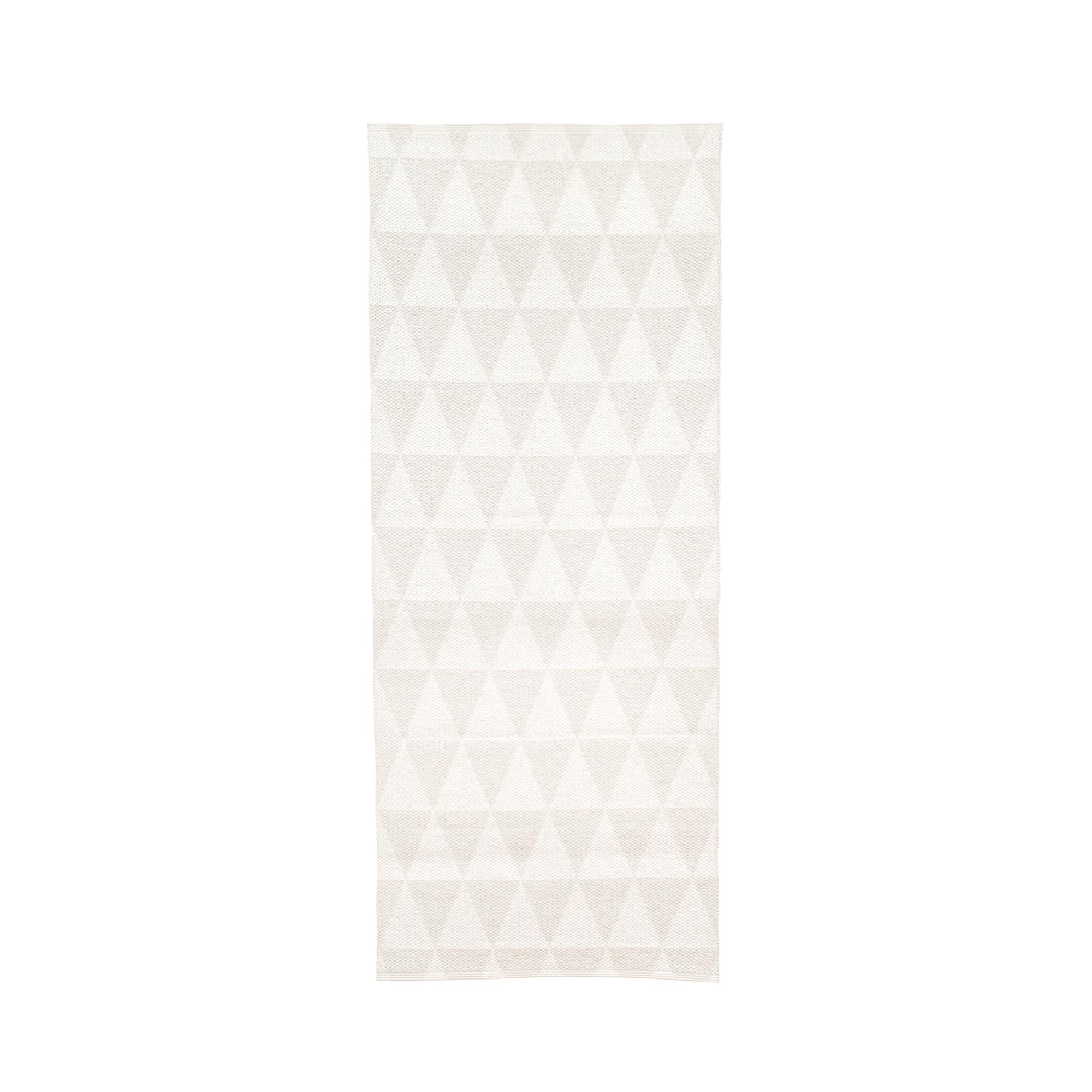 Designtorget Plastmatta Assar 200 vit/vit