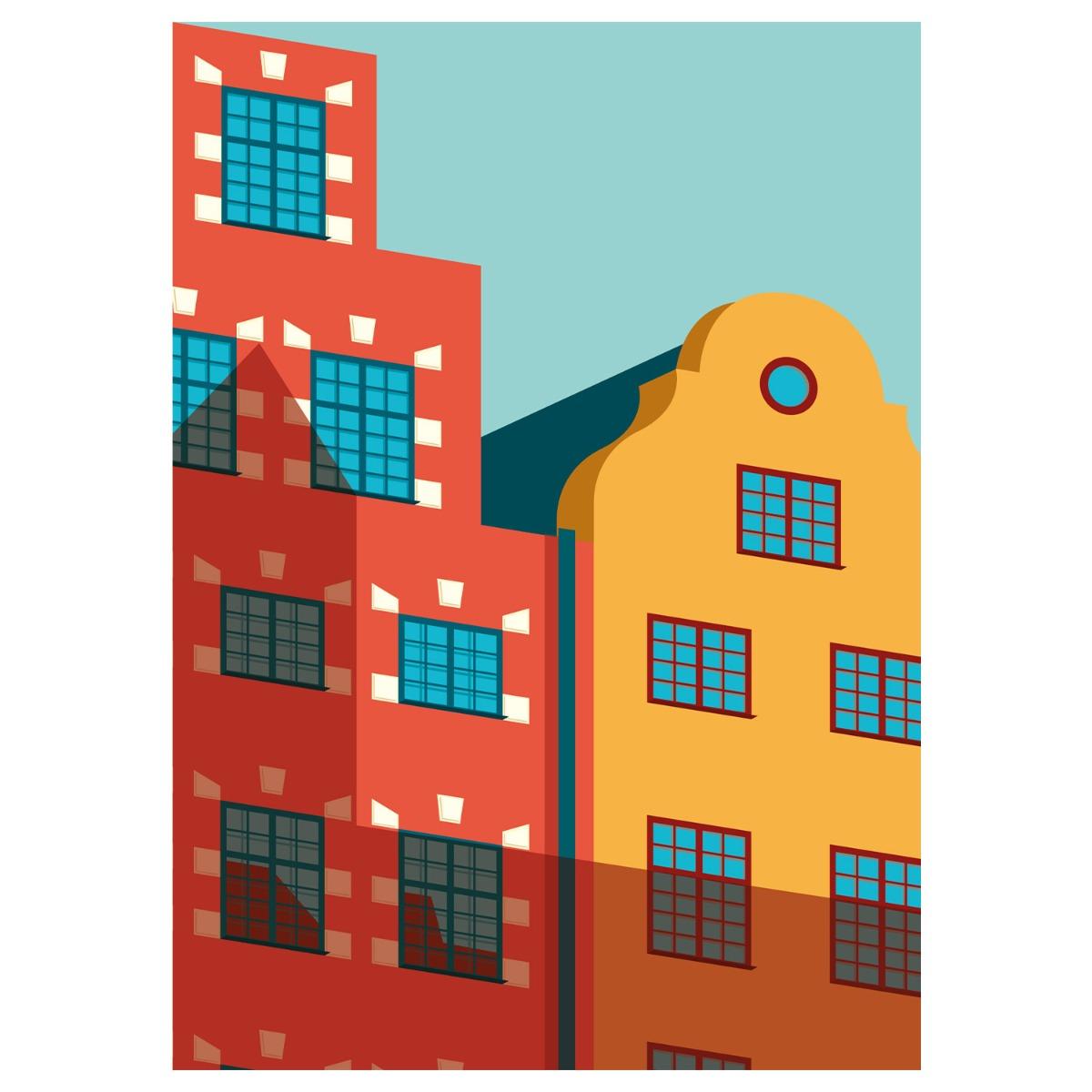Designtorget Poster Gamla Stan 50x70