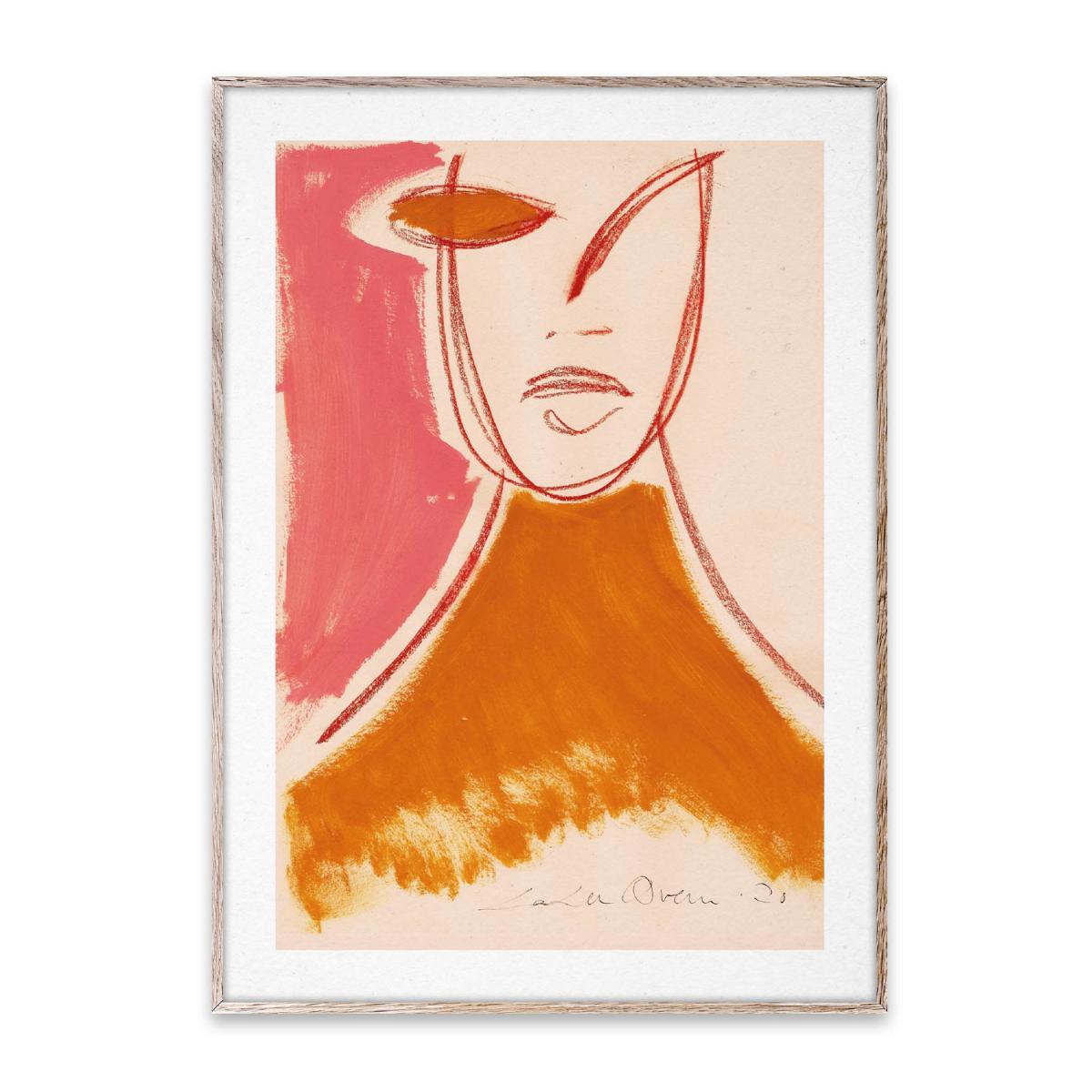 Designtorget Poster Pink Portrait 30x40 cm