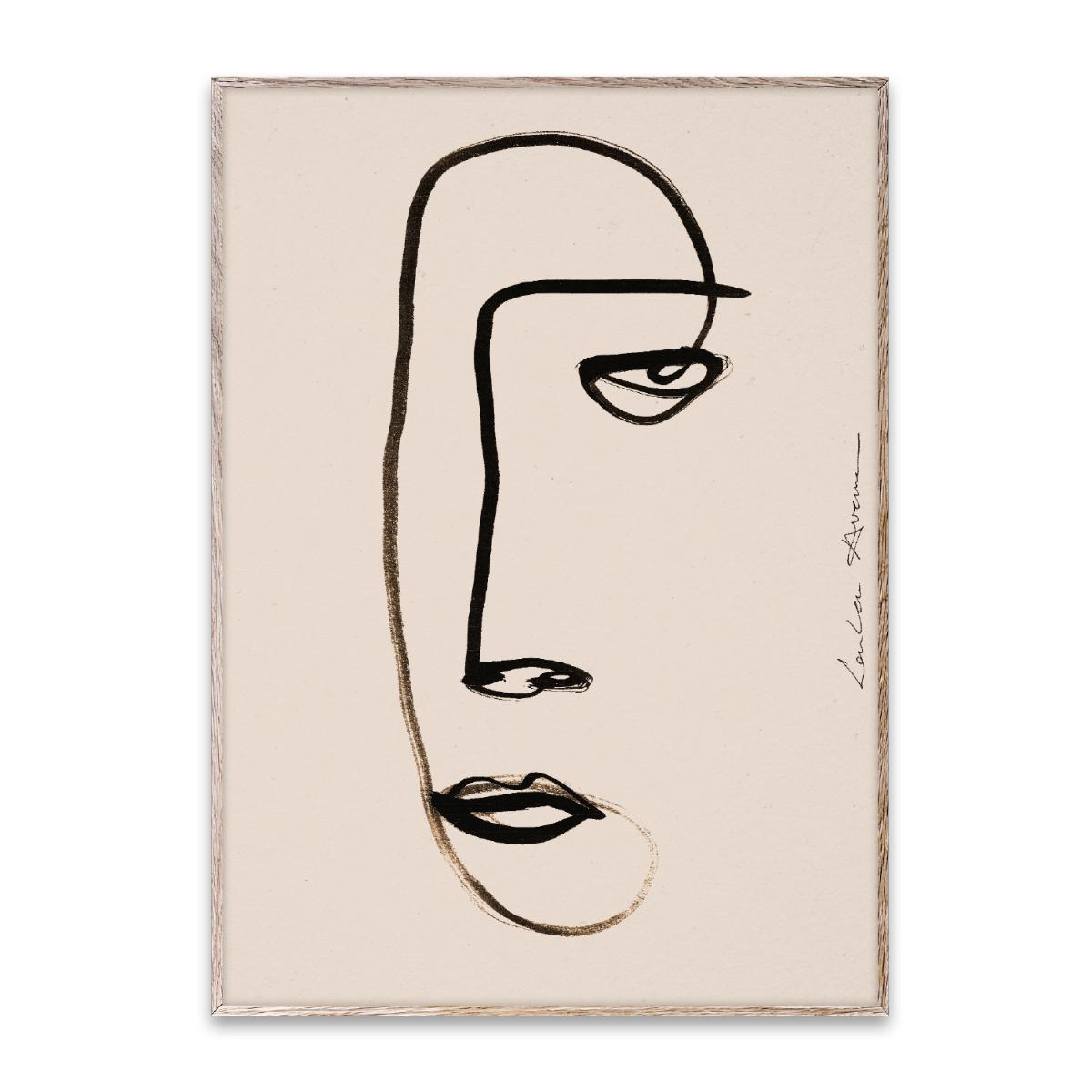 Designtorget Poster Serious Dreamer 50x70 cm
