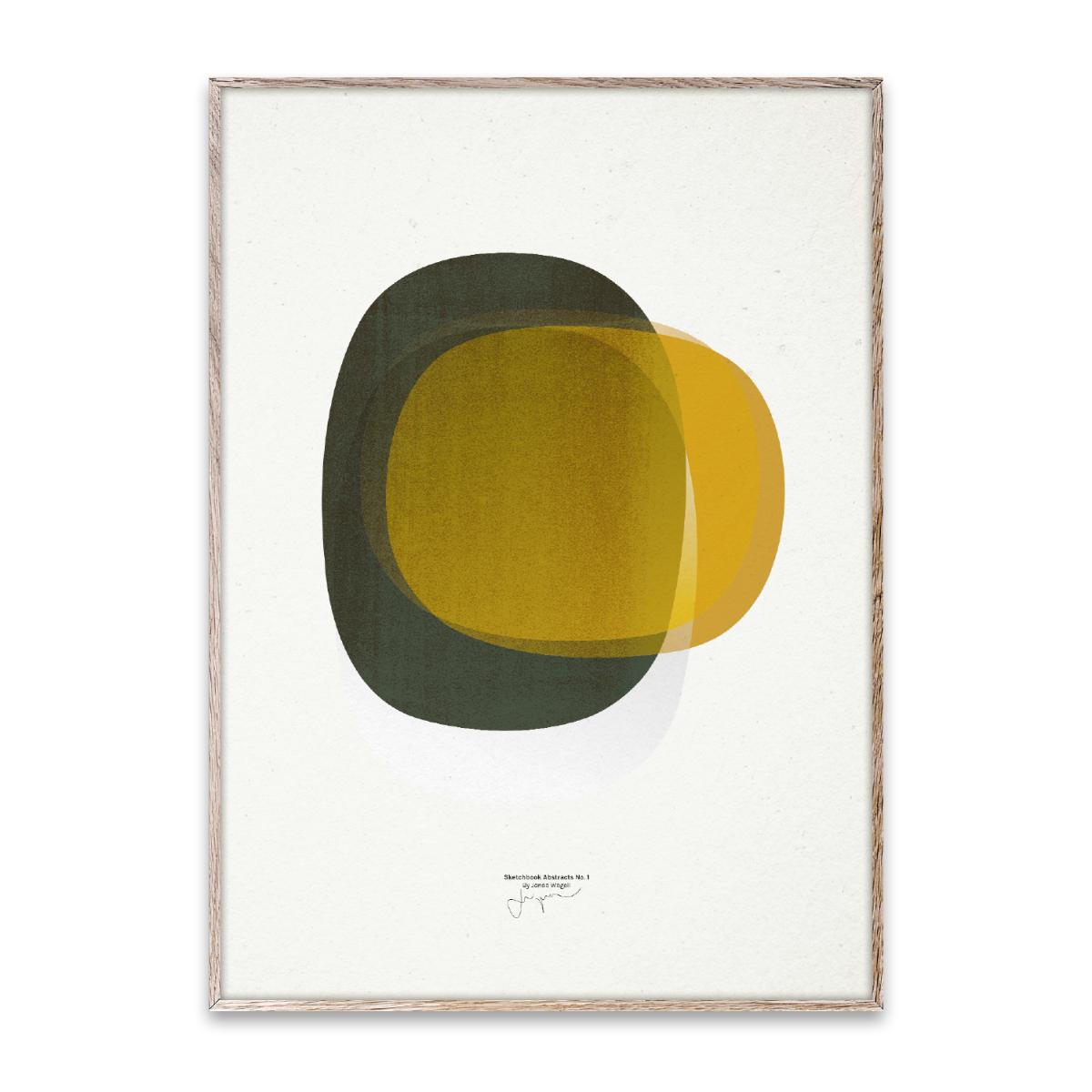 Designtorget Poster Sketchbook Abstracts 01 50x70 cm