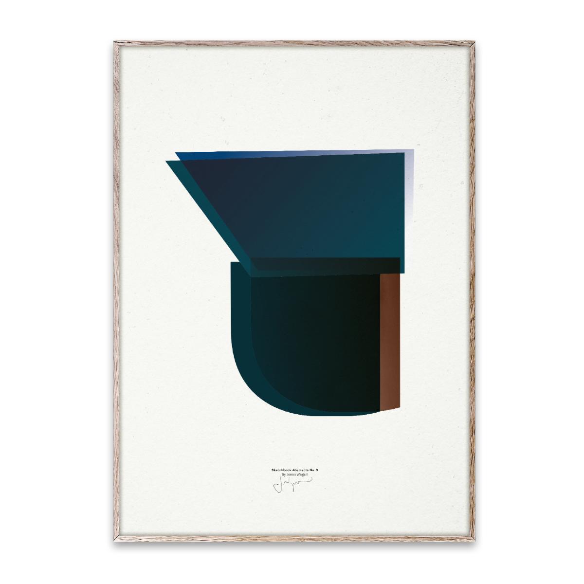 Designtorget Poster Sketchbook Abstracts 03 50x70 cm