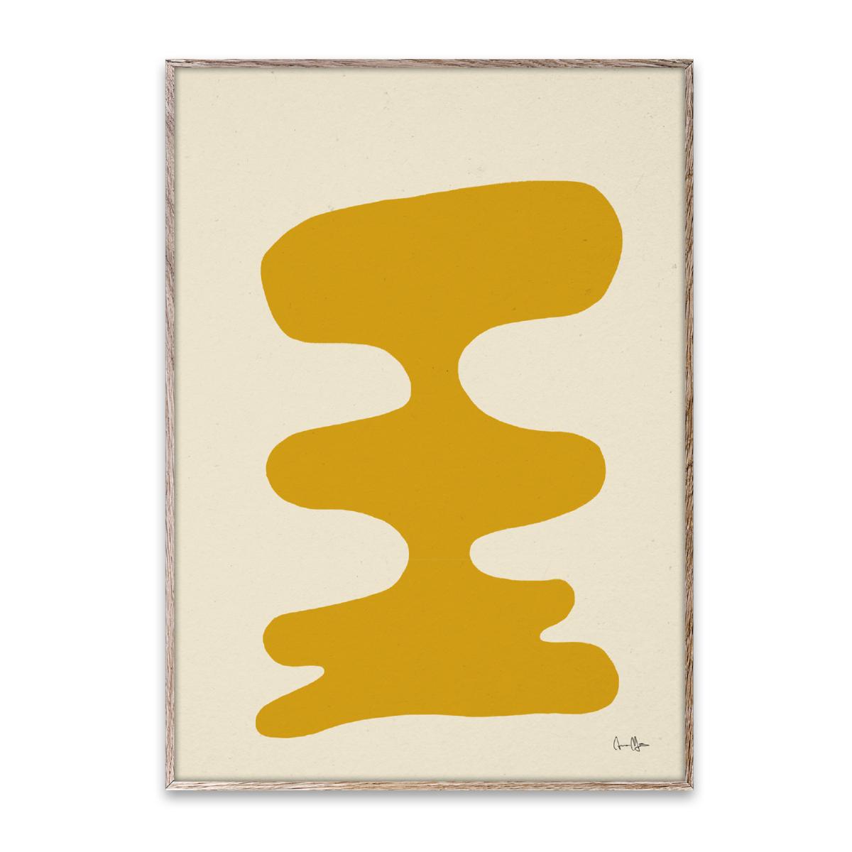 Designtorget Poster Soft Yellow 30x40 cm
