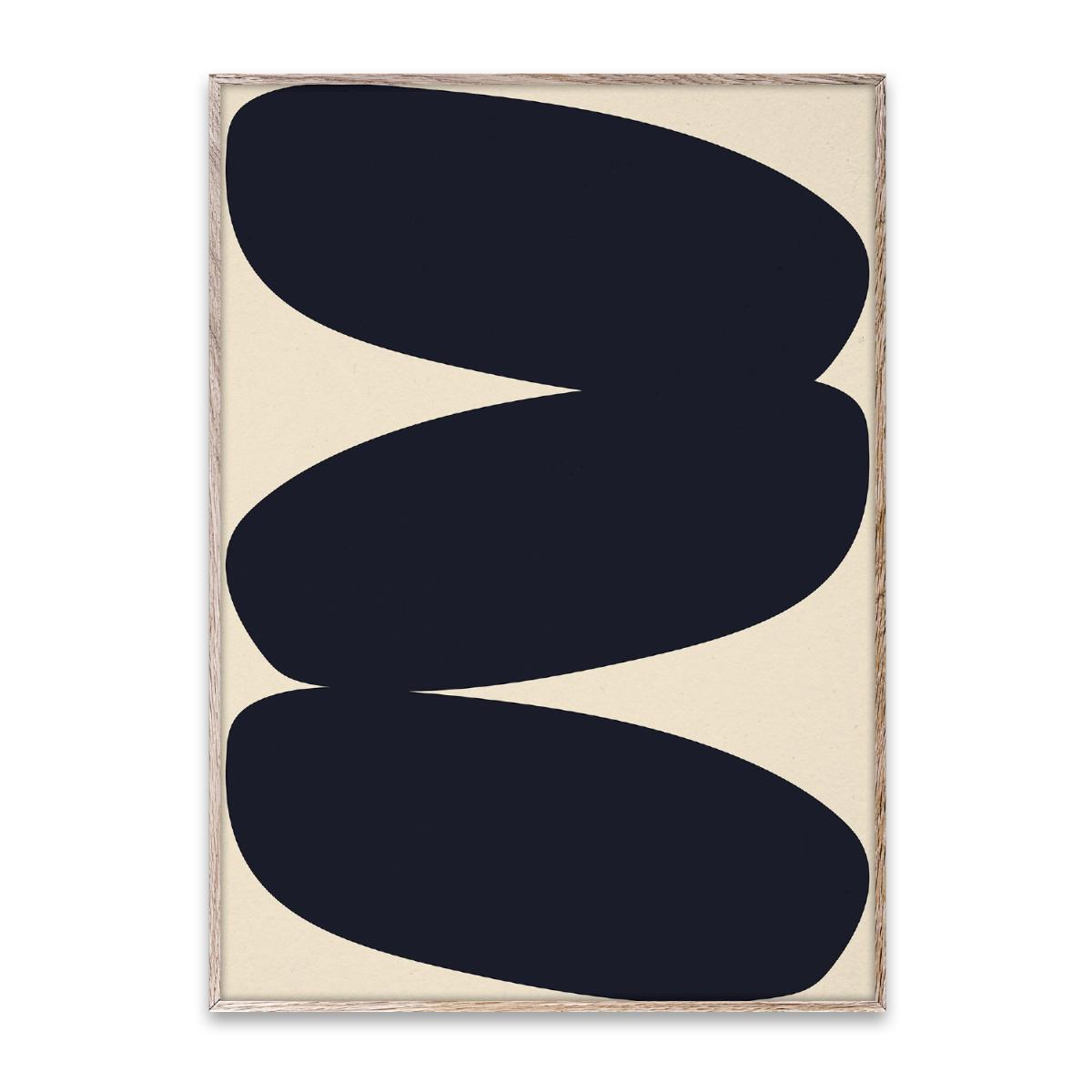 Designtorget Poster Solid Shapes 01 50x70 cm