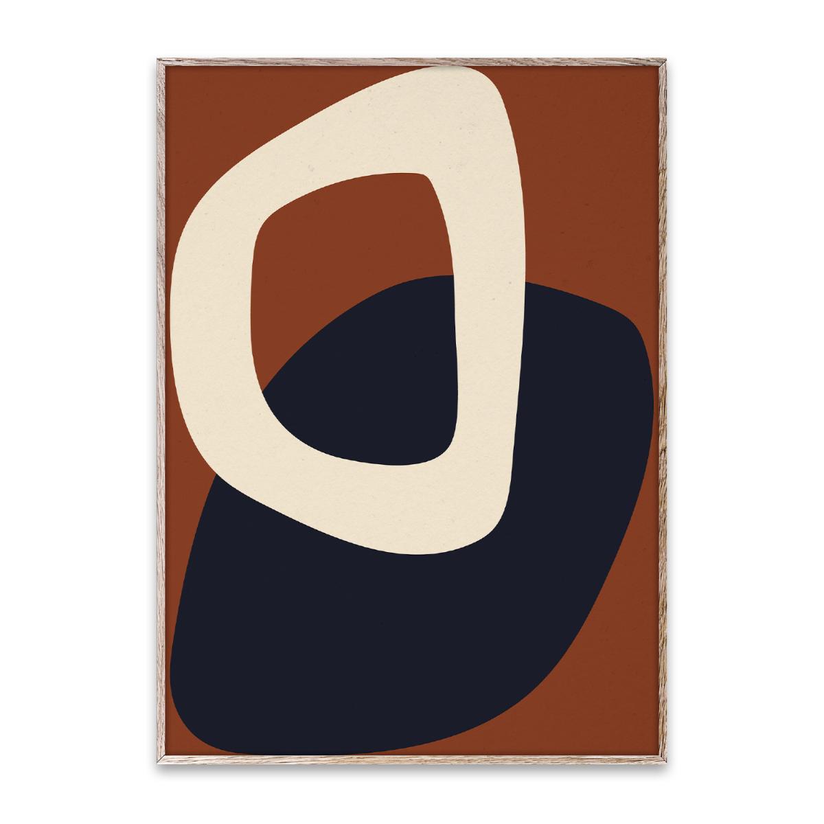 Designtorget Poster Solid Shapes 02 50x70 cm
