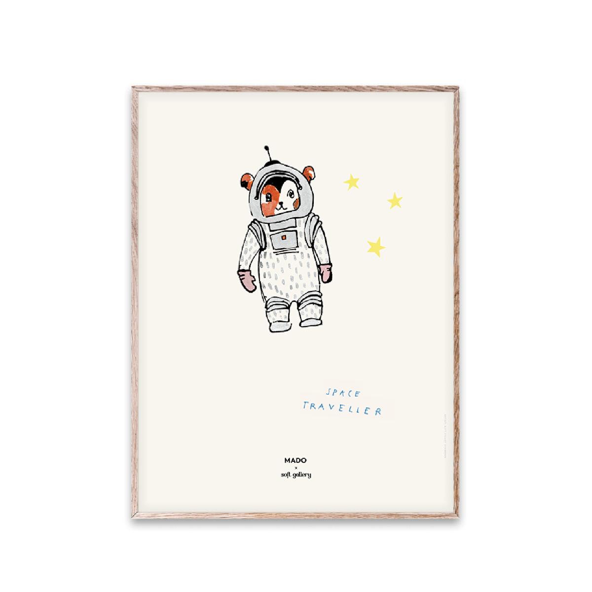 Designtorget Poster Space Traveller 30x40 cm