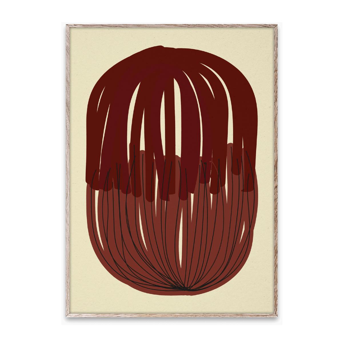 Designtorget Poster Stacked Lines 01 50x70 cm