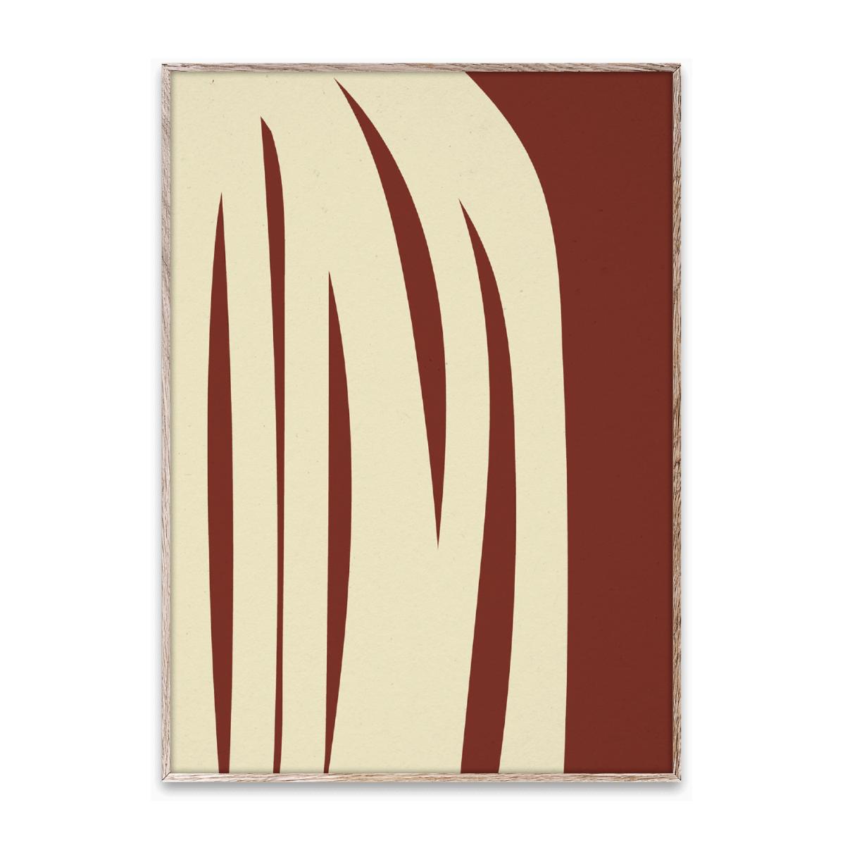 Designtorget Poster Stacked Lines 02 50x70 cm