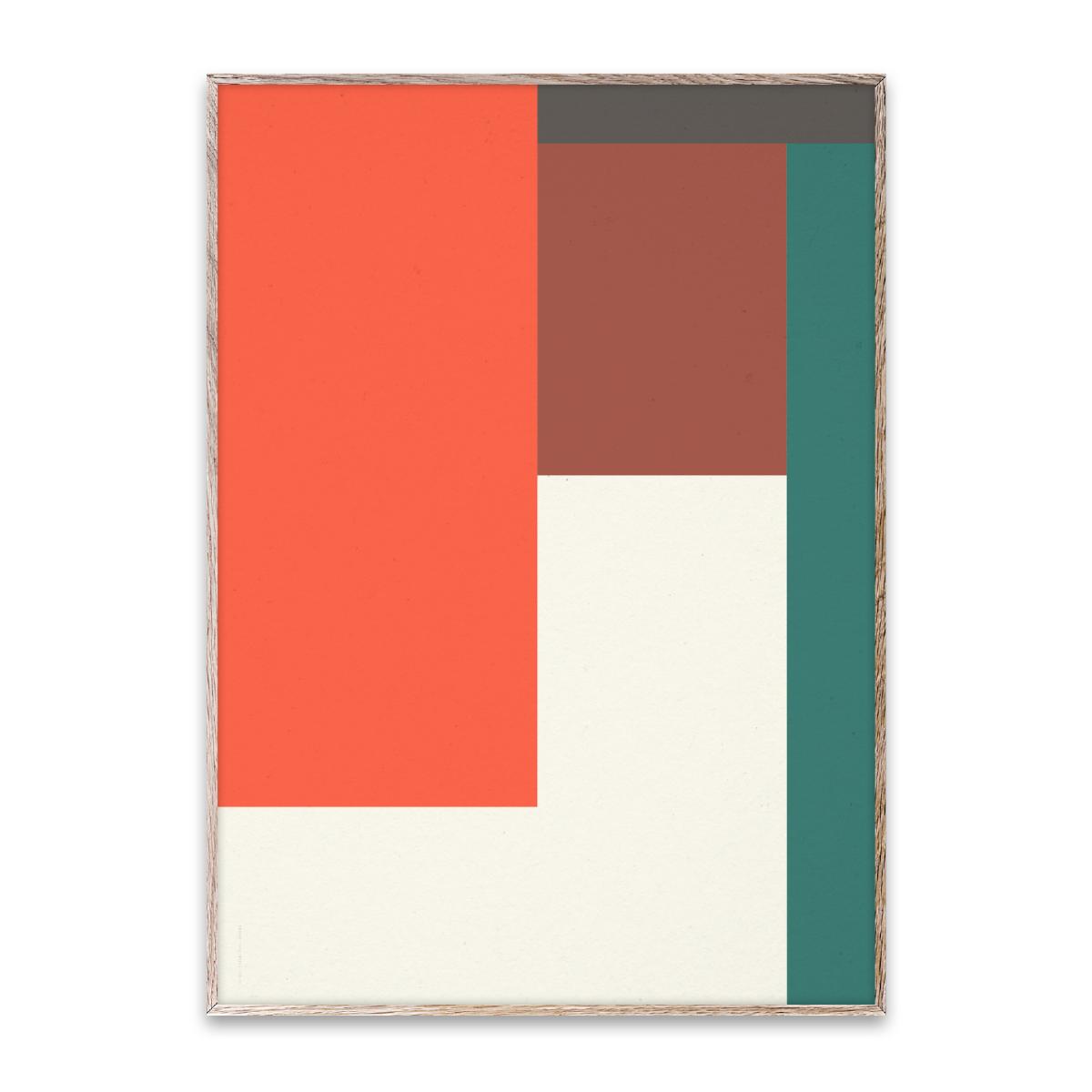 Designtorget Poster Wrong Geometry 04 30x40 cm