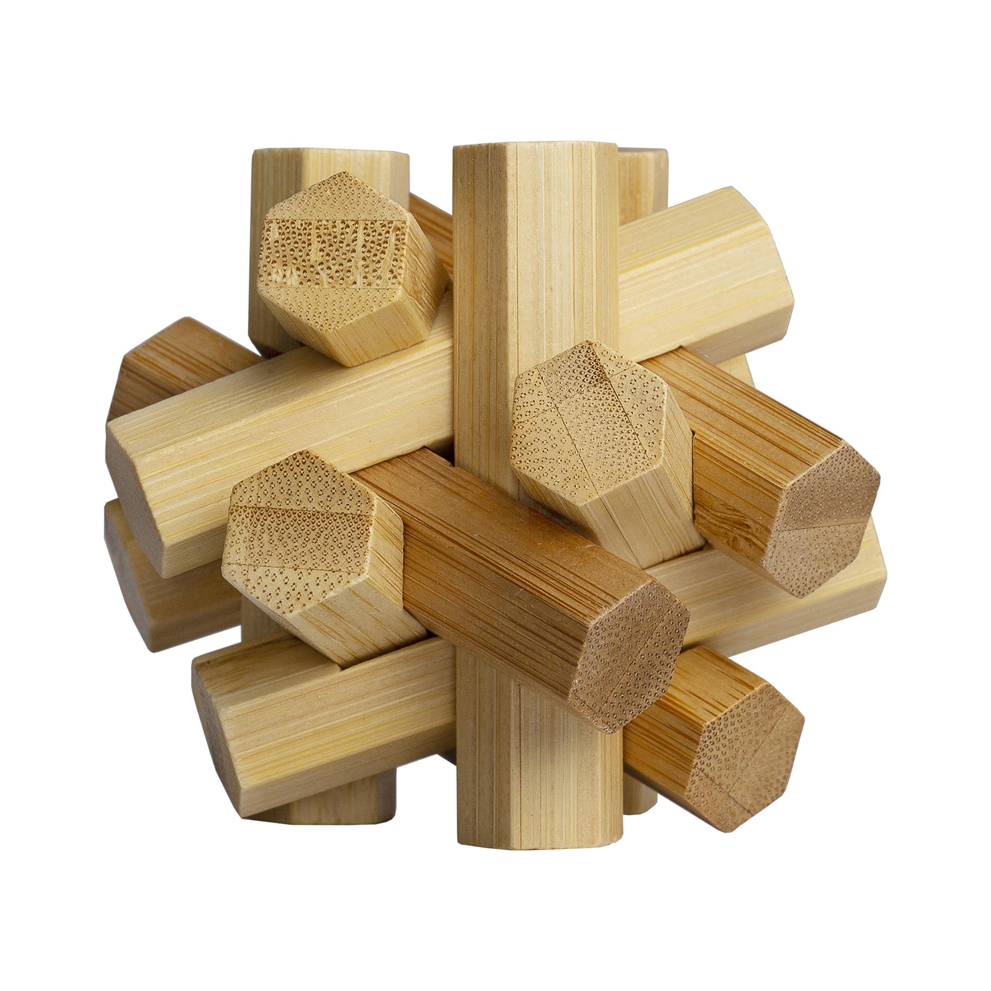 Designtorget Pussel 3D Knut trä