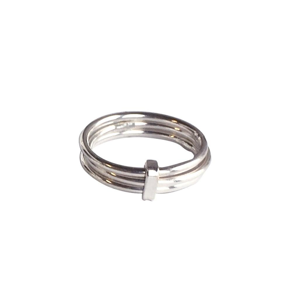 Designtorget Ring Trering Silver 16-17 mm