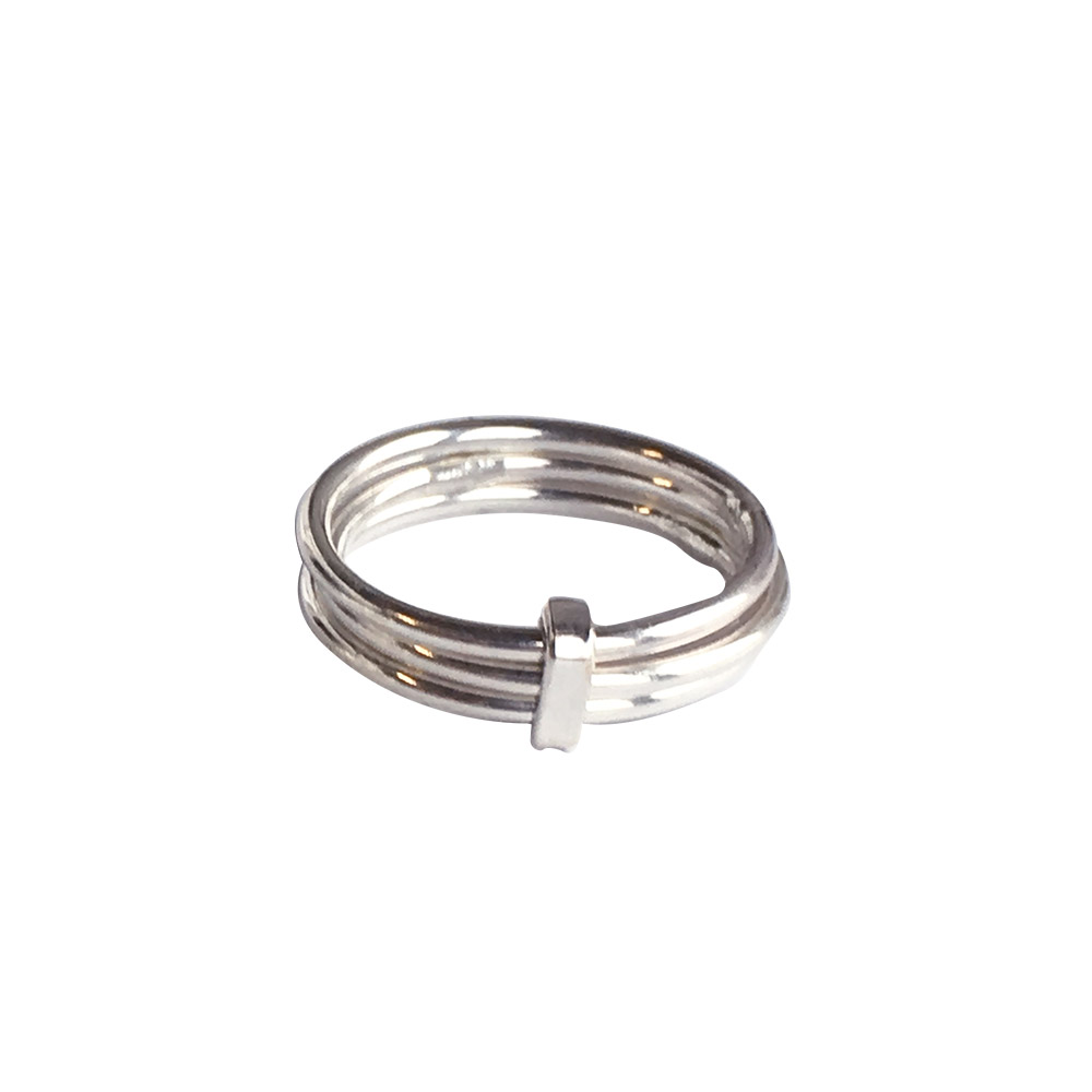 Designtorget Ring Trering Silver 19-20 mm
