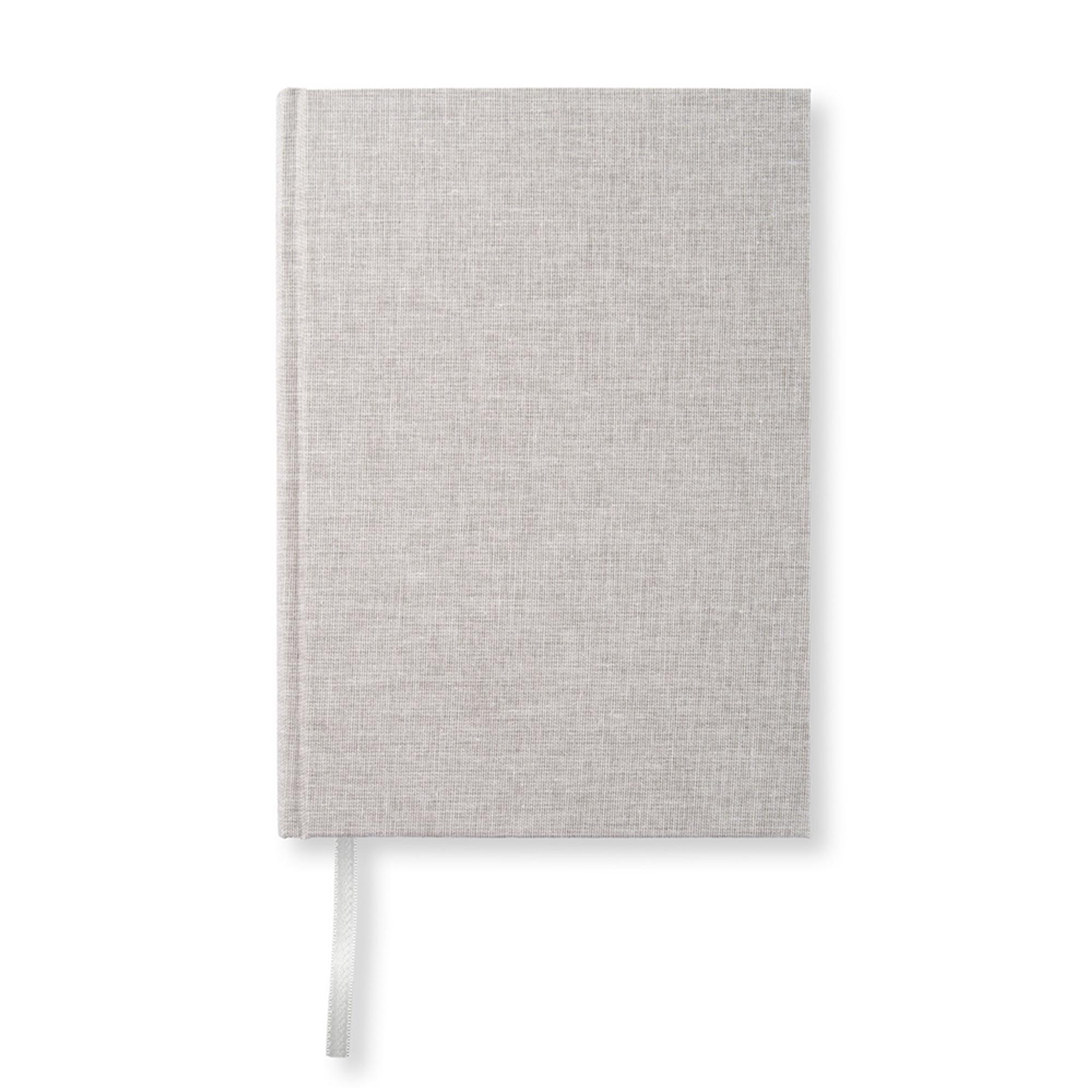 Designtorget Skrivbok A5 Textil natur