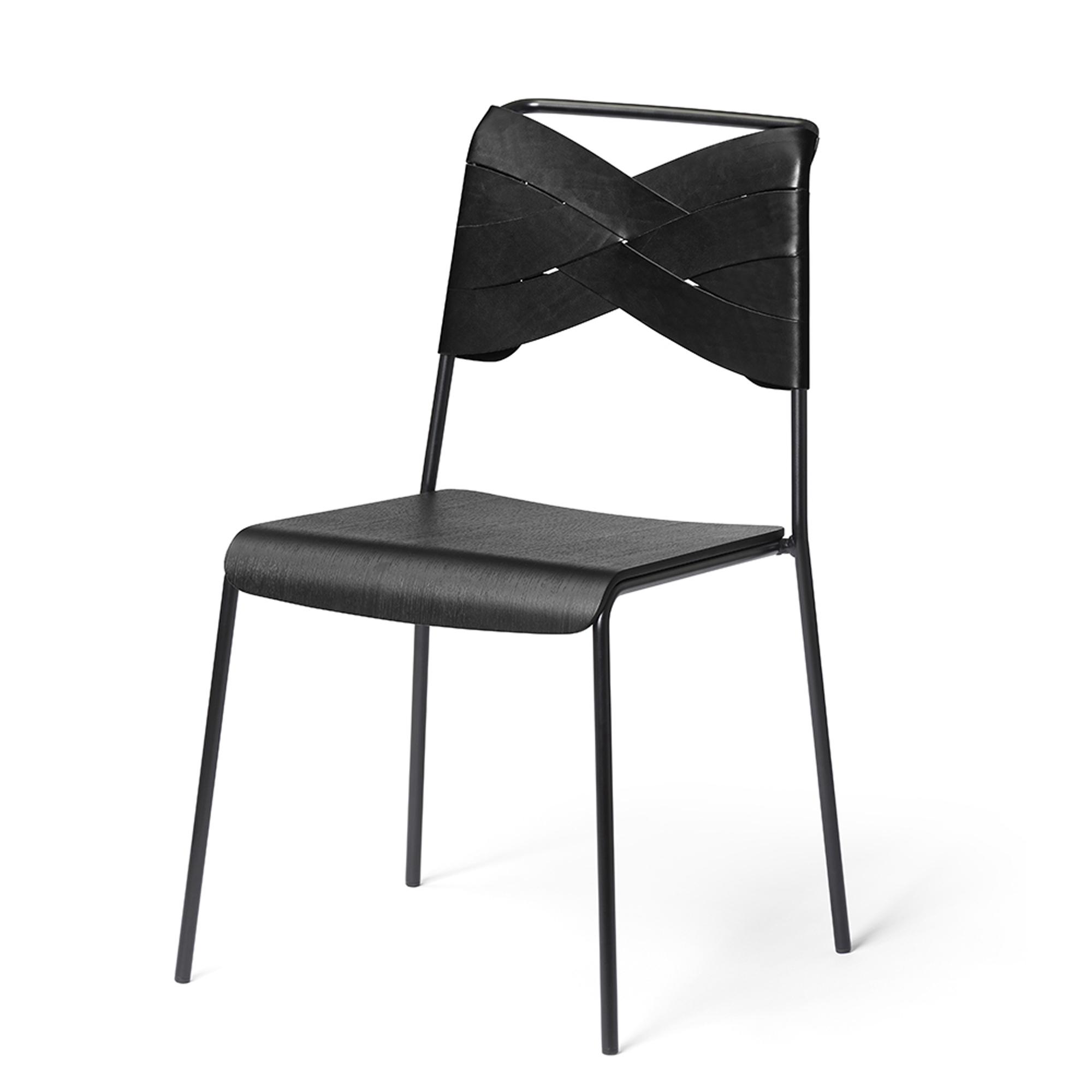 Designtorget Stol Torso black/black