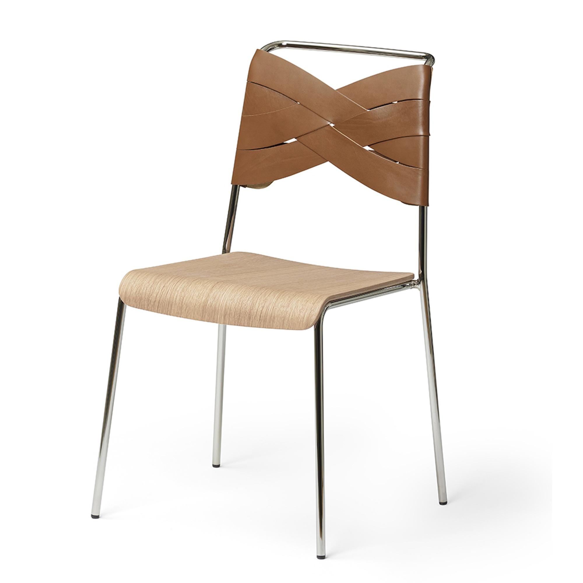 Designtorget Stol Torso oak/cognac