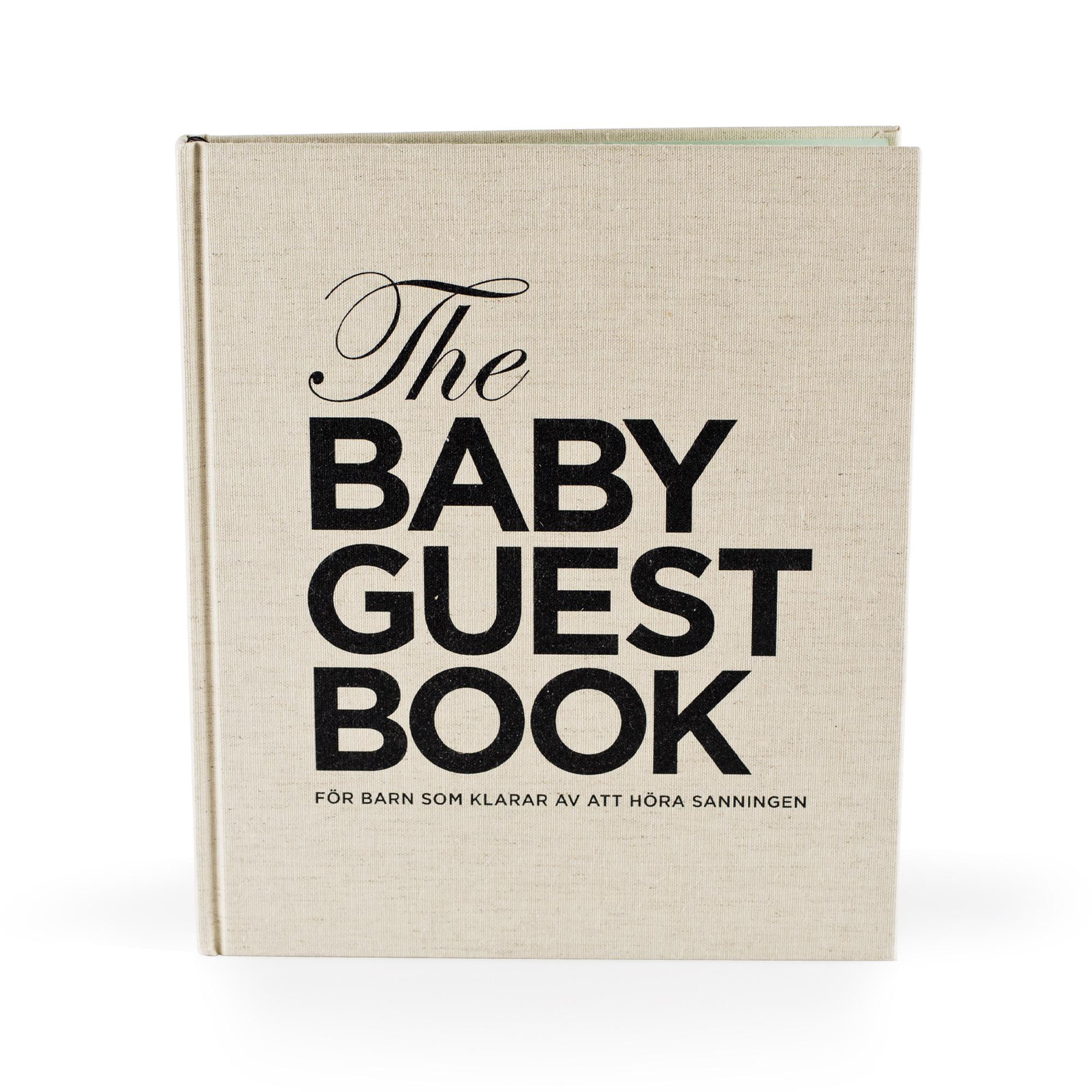 Designtorget The Baby Guest Book SV